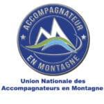Accueil logo : l'eccusson de l'union national des accompagnateurs en Montagne